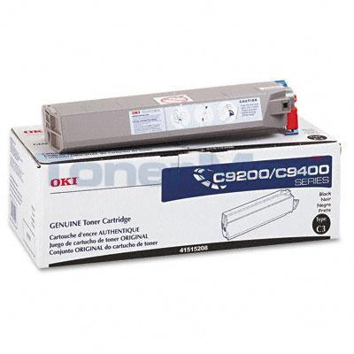 OKIDATA C9000 TYPE C3 TONER BLACK
